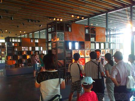 鶯歌陶瓷博物館05室內展覽