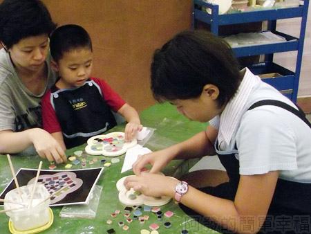 鶯歌陶瓷博物館11DIY馬賽克鍋墊
