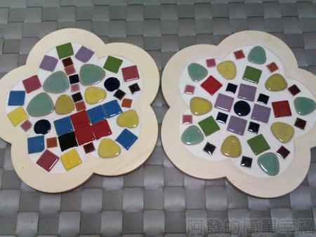鶯歌陶瓷博物館12DIY馬賽克鍋墊