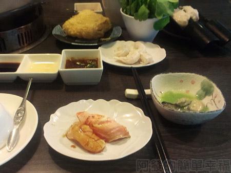 品火鍋-帝王蟹鍋物07炙壽司