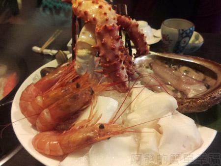 品火鍋-帝王蟹鍋物16海鮮拼盤