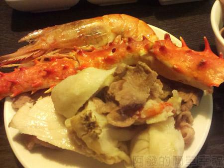 品火鍋-帝王蟹鍋物25美味上盤