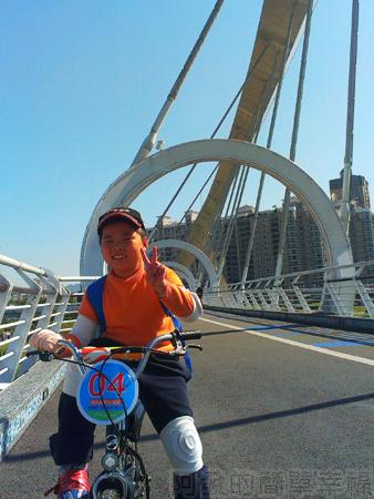 新店陽光運動園區13陽光橋上
