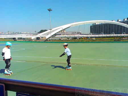 新店陽光運動園區19直排輪競速場