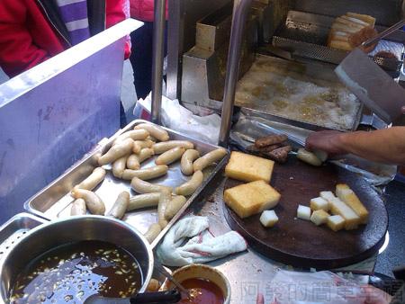 黃石市場-生炒魷魚炸蘿蔔糕06
