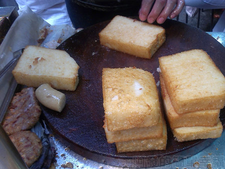 黃石市場-生炒魷魚炸蘿蔔糕07