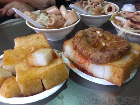 黃石市場-生炒魷魚炸蘿蔔糕11