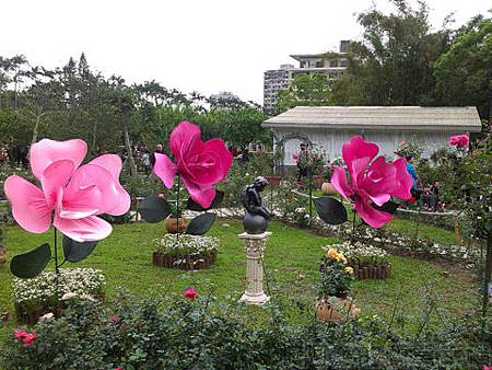 2014士林官邸玫瑰花展05玫瑰立體造型