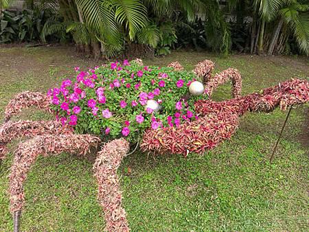 2014士林官邸玫瑰花展25園藝造型-螃蟹