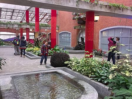 2014士林官邸玫瑰花展33園藝展覽館內