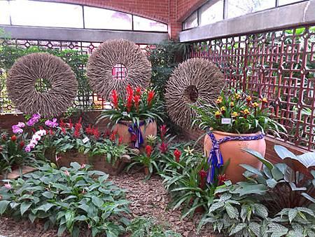 2014士林官邸玫瑰花展34園藝展覽館內2