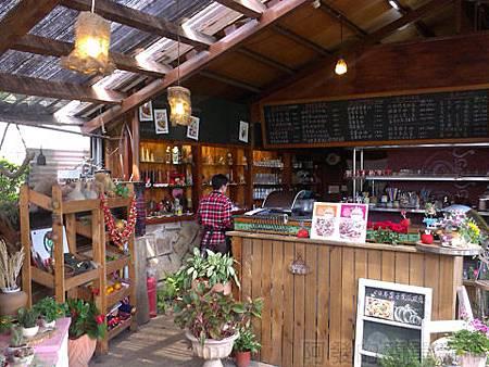 內湖碧山路採草莓I-12莓圃-入口處餐廳櫃檯