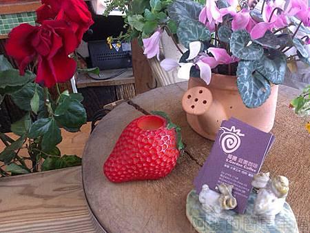 內湖碧山路採草莓I-39莓圃-櫃檯一角