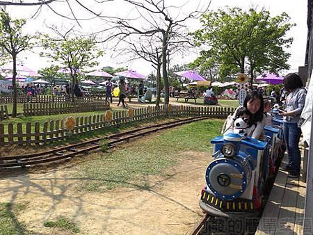 桃園觀音向陽農場II-17投幣式小火車