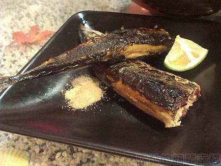 三重-雙滿瀧日式拉麵09烤秋刀魚