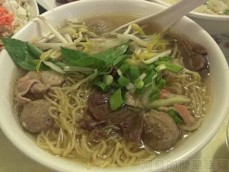 銀座越南美食09綜合三味牛肉蛋麵