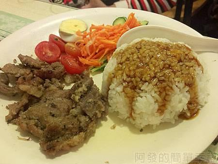 銀座越南美食16越南烤豬肉飯