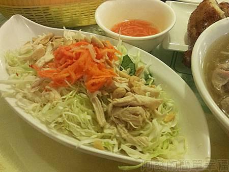 銀座越南美食17越式涼拌雞絲