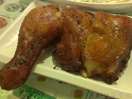 銀座越南美食19越式燒雞腿河粉-燒雞腿