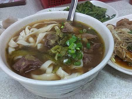 旺旺餃子館13-牛肉麵