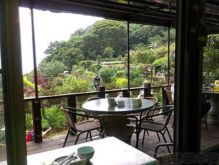 竹子湖-大梯田繡球花海32-餐廳內一角