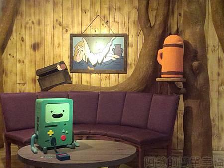探險活寶-阿寶老皮特展15-麻吉樹屋客廳