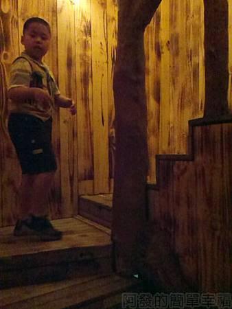 探險活寶-阿寶老皮特展17-麻吉樹屋樓梯