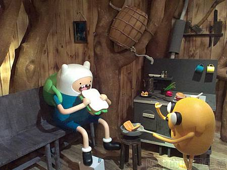 探險活寶-阿寶老皮特展16-麻吉樹屋廚房