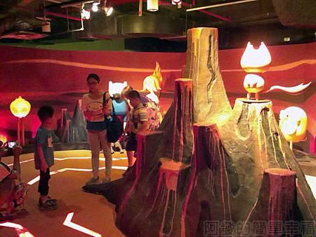 探險活寶-阿寶老皮特展27-火焰王國