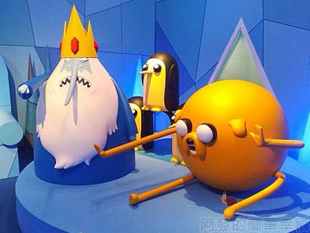 探險活寶-阿寶老皮特展31-寒冰王國-寒冰國王和老皮