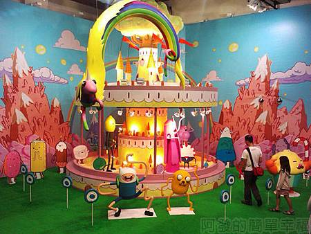 探險活寶-阿寶老皮特展34-糖果王國