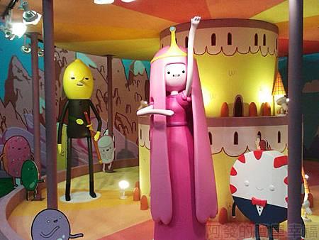 探險活寶-阿寶老皮特展37-糖果王國泡泡糖公主