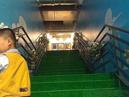 探險活寶-阿寶老皮特展38-往8樓階梯