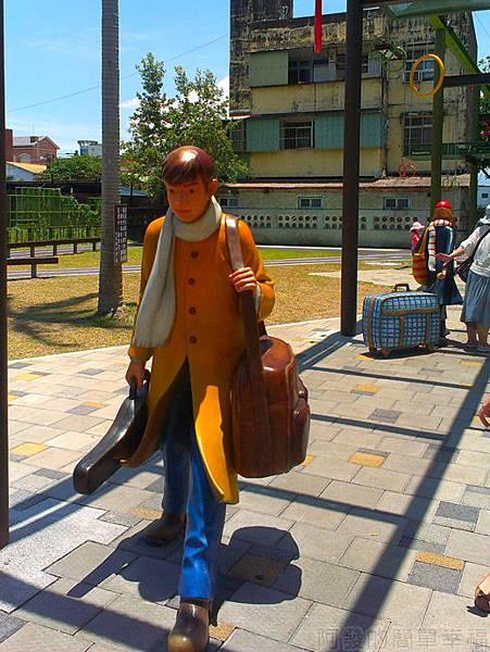 宜蘭一日遊-幾米廣場08向左走先生