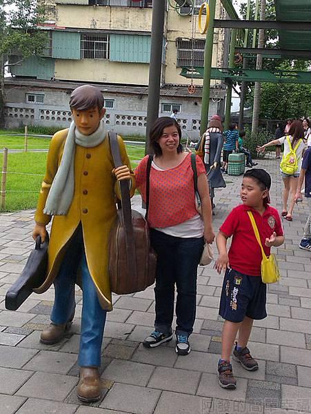 宜蘭一日遊-幾米廣場09向左走先生