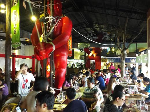 宜蘭II-窯烤山寨村21用餐處一角