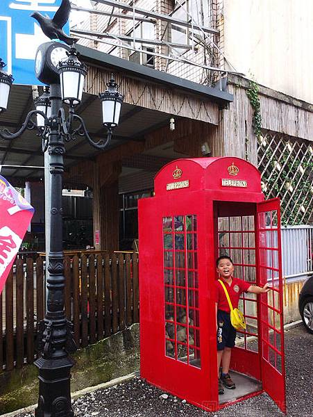 宜蘭III-四圍堡車站02-電話亭