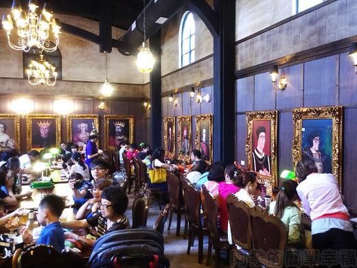 宜蘭III-四圍堡車站33-餐廳區一角