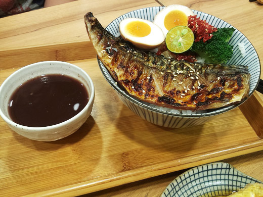 內湖-開丼燒肉vs丼飯12鹽烤鯖魚丼