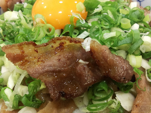 內湖-開丼燒肉vs丼飯20日出燒肉丼-燒肉美味的模樣
