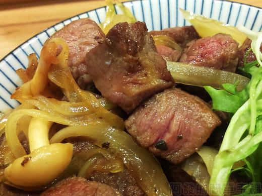內湖-開丼燒肉vs丼飯29骰子菲力丼-特寫