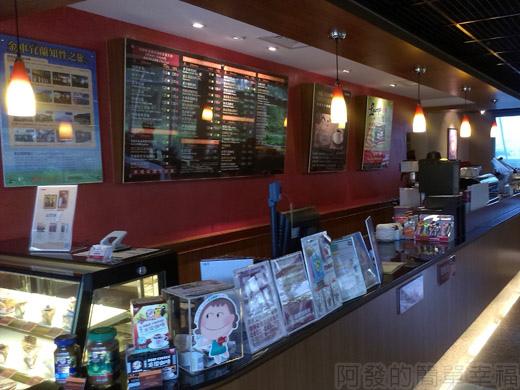 礁溪-伯朗蘭花咖啡館08櫃檯