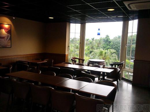 礁溪-伯朗蘭花咖啡館19二樓環境