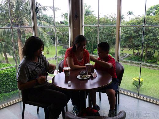 礁溪-伯朗蘭花咖啡館23悠閒的下午茶