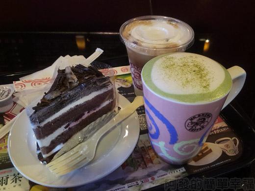 礁溪-伯朗蘭花咖啡館22餐點