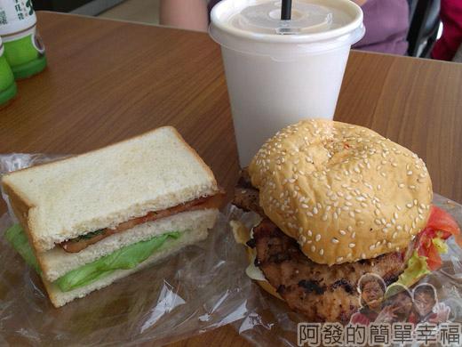 新埔站-無名攤車漢堡04早餐