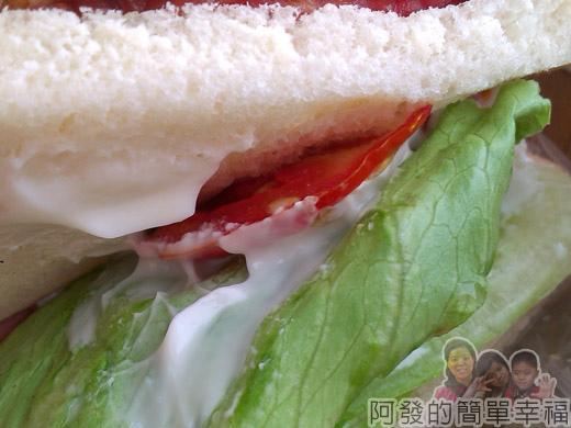 新埔站-無名攤車漢堡07生菜