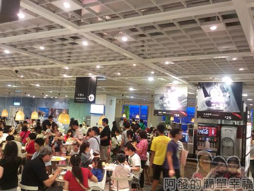 IKEA宜家家居餐廳晚餐-03前半段用餐區