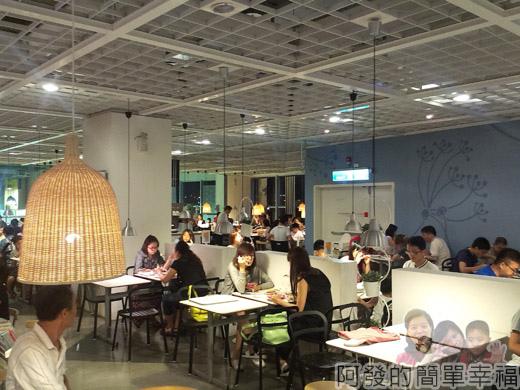 IKEA宜家家居餐廳晚餐-17餐廳中段