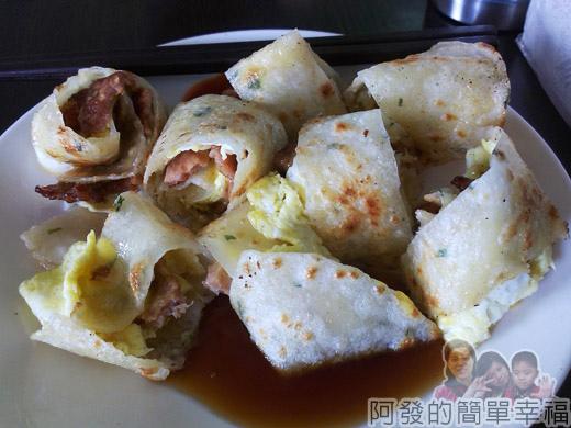 品品早餐-肉蛋吐司11夾肉蛋餅